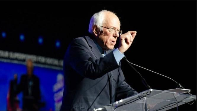 Ông Bernie Sanders đứng ở vị trí thứ hai trong tốp đầu (Ảnh: Getty)