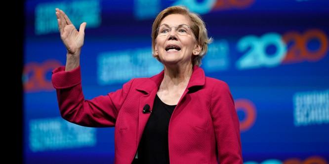 Bà Elizabeth Warren nhận được sự ủng hộ mạnh mẽ từ các cử tri tự do đảng Dân chủ (Ảnh: Business Insider)