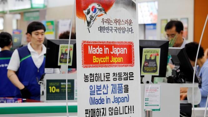 Làn sóng tẩy chay hàng Nhật ở Hàn Quốc trỗi dậy mạnh mẽ (Ảnh: Getty)