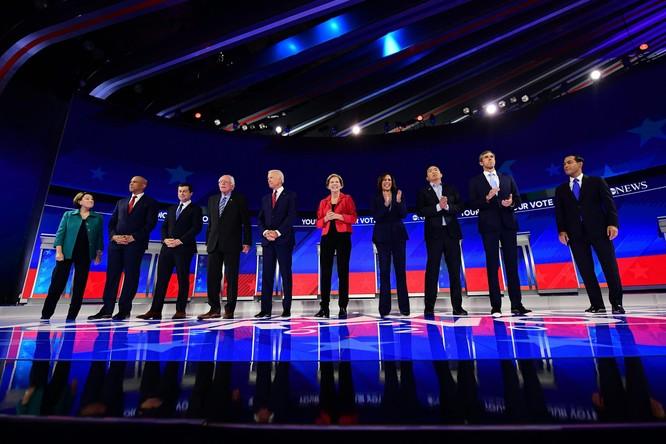 Cuộc tranh luận trực tiếp lần ba không nêu bật được hướng giải quyết các vấn đề quan trọng của nước Mỹ (Ảnh: Time)
