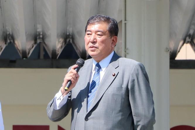 Ông Shigeru Ishiba là một gương mặt triển vọng nhưng lại đang bị cô lập trong đảng (Ảnh: Getty)