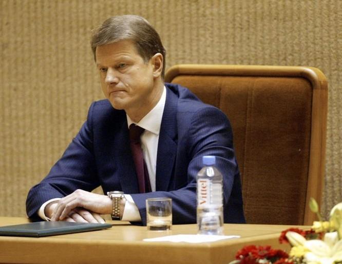 Tổng thống Lithuania Rolandas Paksas (Ảnh: AFP)