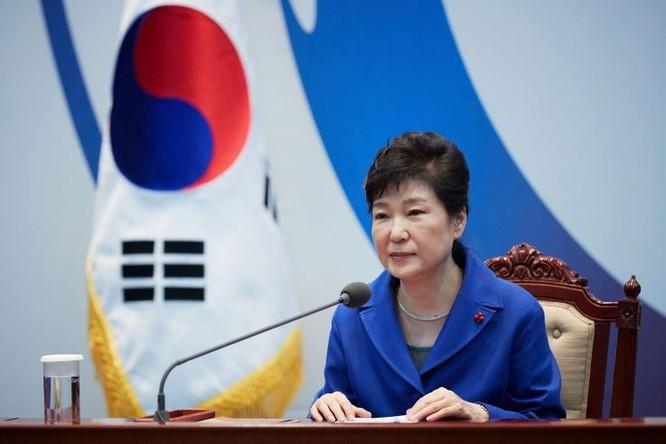 Tổng thống Hàn Quốc Park Geun-hye (Ảnh: Getty)