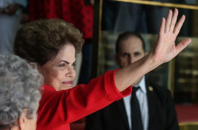 Tổng thống Brazil Dilma Rousseff (Ảnh: AFP)