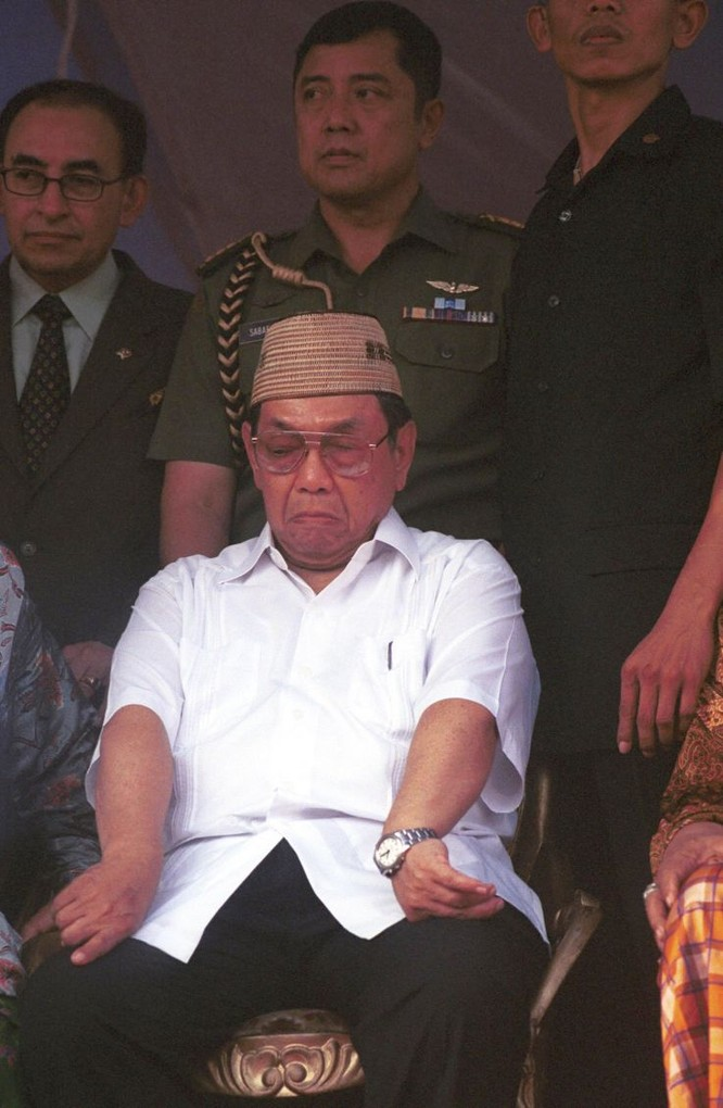 Tổng thống Indonesia Abdurrahman Wahid (Ảnh: Getty)
