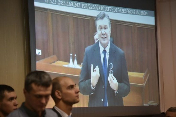 Tổng thống Ukraine Viktor Yanukovych (Ảnh: AFP)