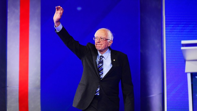 Ứng viên Tổng thống Bernie Sanders tuyên bố