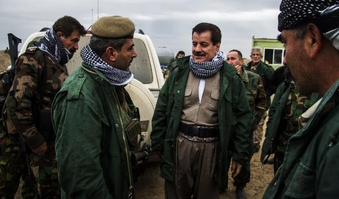 Lực lượng Peshmerga của người Kurd đóng vai trò quan trọng trong cuộc chiến chống IS (Ảnh: Getty)