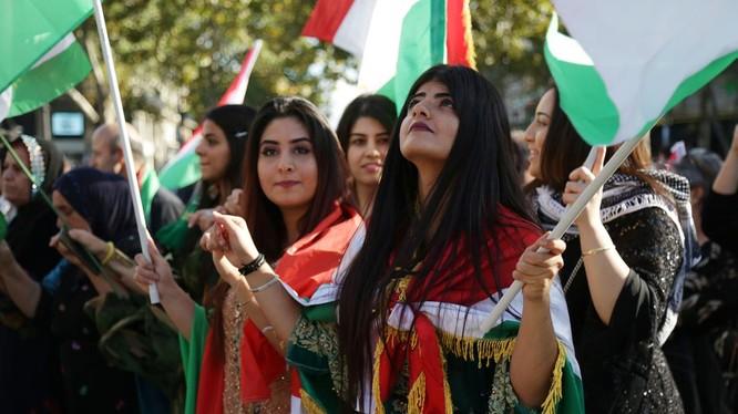 Khát vọng độc lập của người Kurd bị Washington coi nhẹ (Ảnh: AFP)