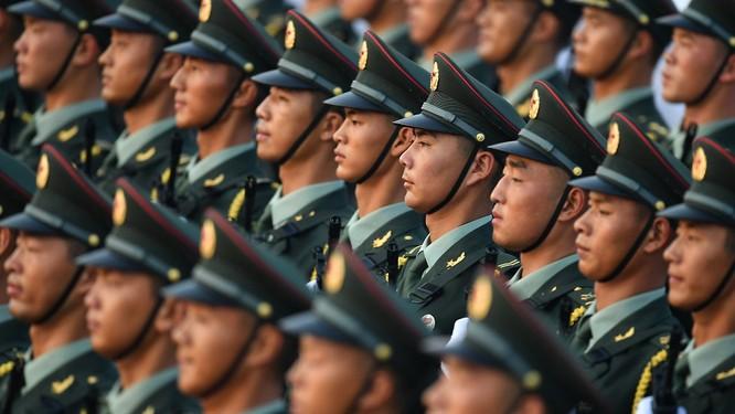 Ngân sách quốc phòng của Trung Quốc đứng thứ 2 thế giới, chỉ sau Mỹ (Ảnh: Getty)