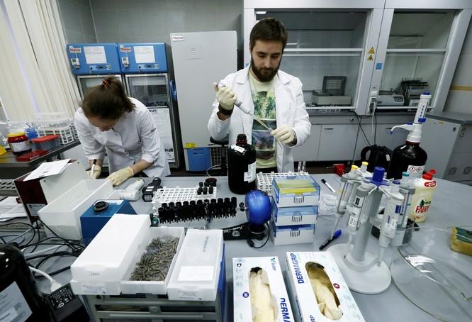 Bên trong phòng thí nghiệm của Cơ quan Chống Doping Nga (RUSADA) (Ảnh: RT)