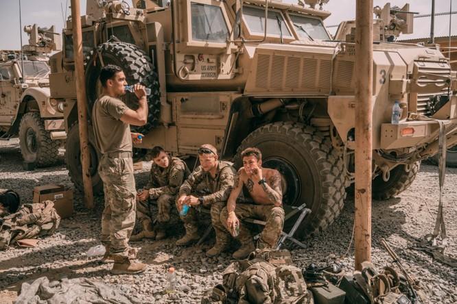 Binh sĩ Mỹ tại Afghanistan (Ảnh: API)