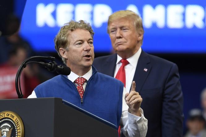 Thượng nghị sĩ Rand Paul nói rằng ông Trump là người không ngại xung đột và đã quá quen với những rắc rối thế này (Ảnh: Wahsington Post)