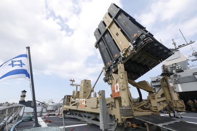 """Hệ thống phòng thủ tên lửa """"Vòm Sắt"""" của Israel (Ảnh: National Interest)"""