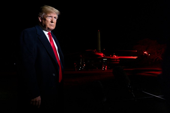 Ông Donald Trump trở thành vị Tổng thống thứ ba trong lịch sử Mỹ bị luận tội (Ảnh: NBC)