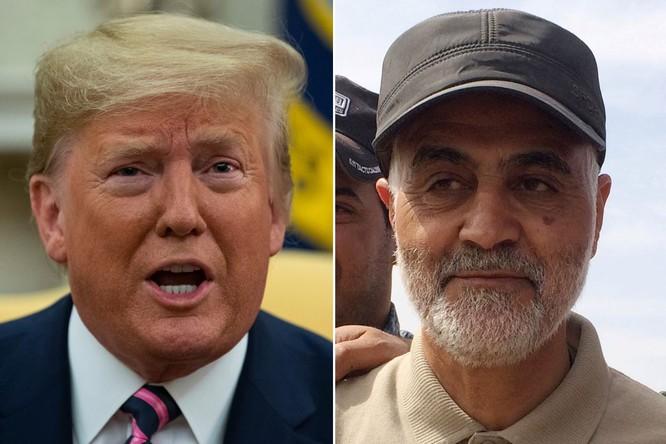 Ông Soleimani từng công khai thách thức Tổng thống Mỹ Donald Trump (Ảnh: NYTimes)