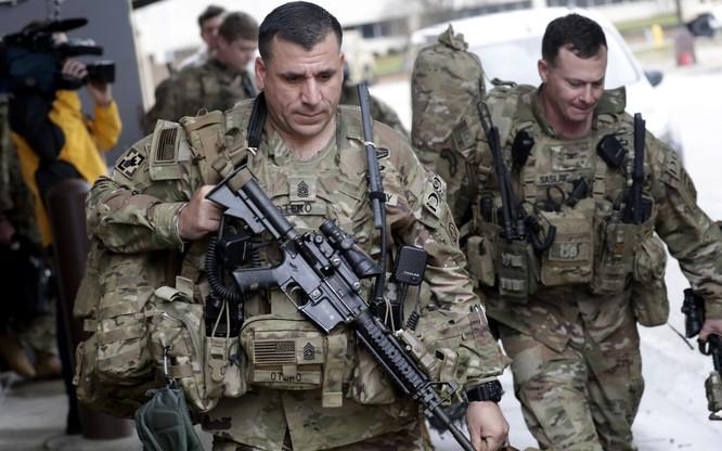 Binh sĩ Mỹ tại Iraq (Ảnh: Times of Israel)