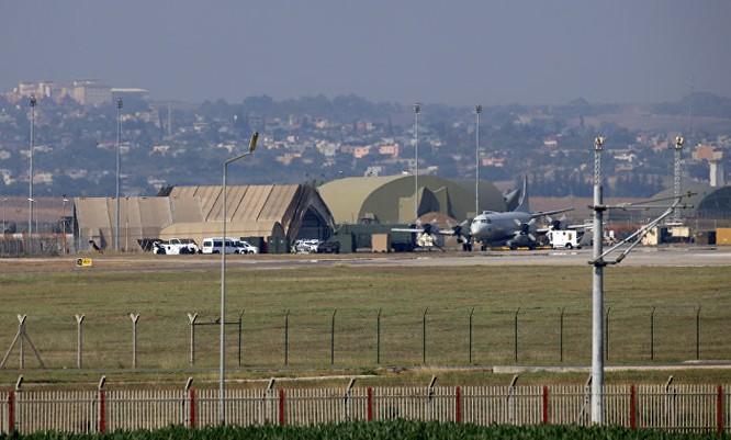 Căn cứ không quân Incirrlik của Thổ Nhĩ Kỳ là nơi chương trình hợp tác tình báo Mỹ-Thổ được thực hiện (Ảnh: Sputnik)