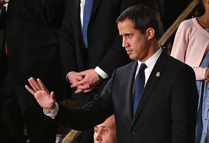Thủ lĩnh phe đối lập Venezuela Juan Guaido là vị khách đặc biệt của Tổng thống Trump (Ảnh: AFP)