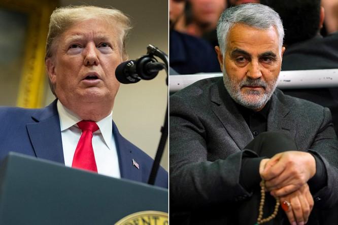 Ông Trump đề cập tới vụ ám sát tướng Iran Qasem Soleimani trong Thông điệp liên bang (Ảnh: NYPost)
