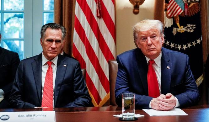 Quan hệ giữa ông romney và Tổng thống Trump từ lâu đã