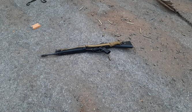 Khẩu súng được cho là thứ vũ khí mà thủ phạm đã sử dụng (Ảnh: SCMP)