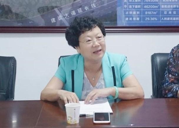 Bà Vương Bình (Ảnh: Đông Phương)