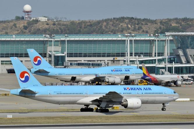 Hãng Korea Air quyết định dừng các chuyến bay đến và đi Daegu (Ảnh: CNN)