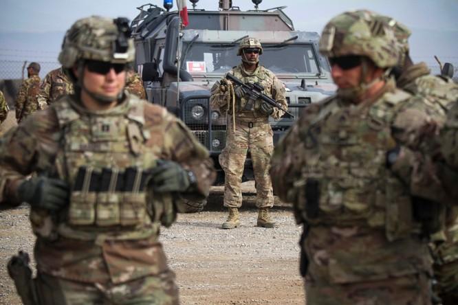 Binh sĩ My đồn trú tại Afghanistan (Ảnh: NYTimes)