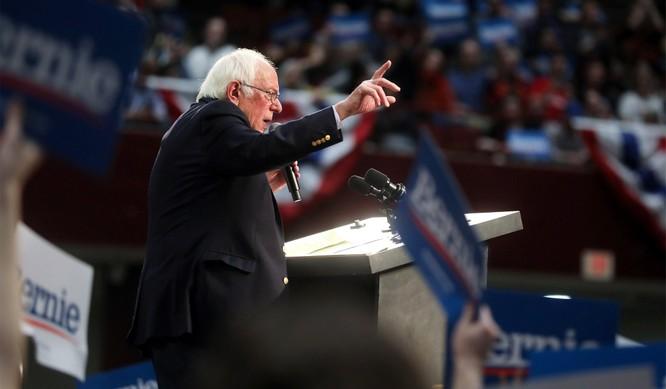 Ông Sanders giành chiến thắng ở bang lớn nhất, California (Ảnh: National Review)