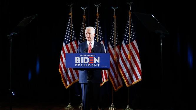 Cựu Phó Tổng thống Joe Biden mô tả công tác chống dịch COVID-19 không khác gì lao vào một cuộc chiến (Ảnh: New York 1)