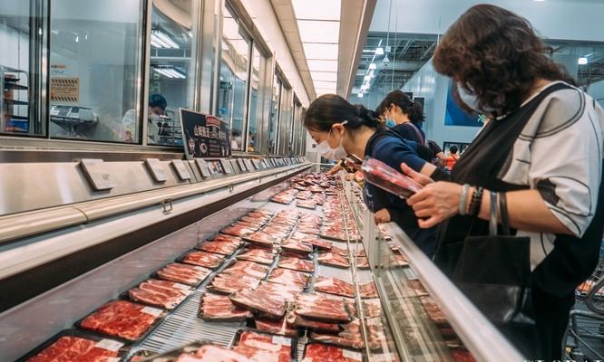 Nhiều siêu thị ở Trung Quốc đã loại các hồi khỏi các kệ hàng của họ (Ảnh: Global Times)