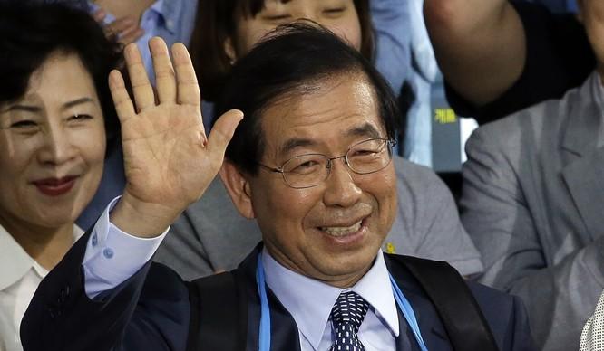 Thị trưởng Seoul Park Won-soo (Ảnh: AP)
