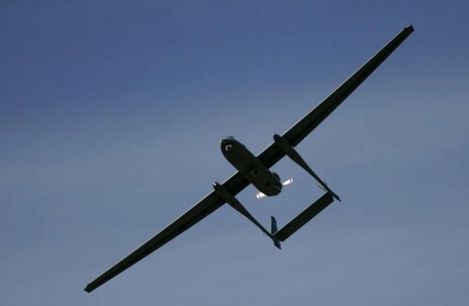 Mẫu drone Heron mà quân đội Ấn Độ sở hữu (Ảnh: AP)