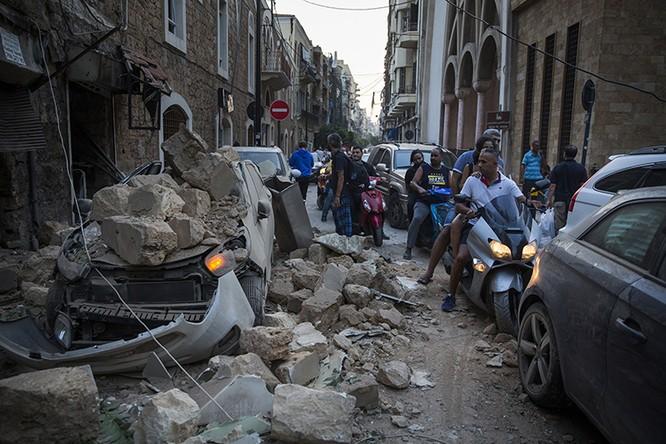Nhiều khu vực dân cư cách xa tâm vụ nổ cũng bị ảnh hưởng (Ảnh: CNN)