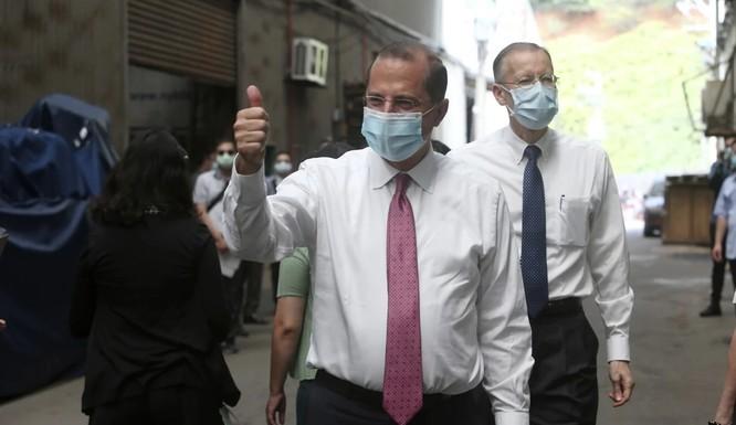 bộ trưởng Y tế và Dịch vụ Nhân sinh Mỹ Alex Azar tới thăm Đài Loan trong tuần này, khiến Bắc Kinh cực lực phản đối (Ảnh: AP)
