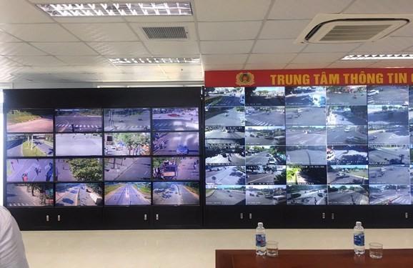 Trung tâm giám sát an ninh trật tự qua camera thông minh