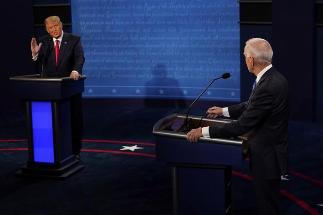 """Đối đầu Trump – Biden: Tranh luận vòng cuối """"nảy lửa"""" ảnh 3"""