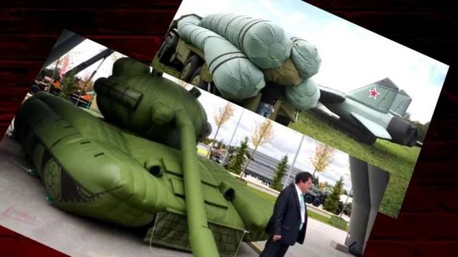 Mô hình bơm hơi - Vũ khí ngụy trang lợi hại của quân đội Nga ảnh 1