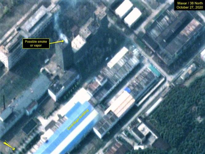 Hình ảnh lạ từ cơ sở hạt nhân Triều Tiên khiến giới phân tích bối rối ảnh 1