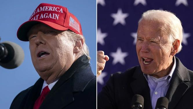 Trump đối đầu Biden: Nước Mỹ trước thời khắc quan trọng ảnh 1