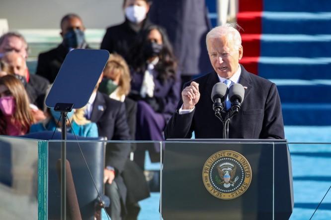 Ông Joe Biden tuyên thệ nhậm chức Tổng thống Mỹ ảnh 7