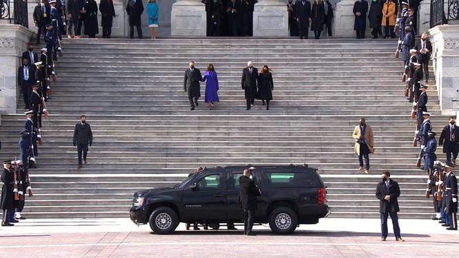 Ông Joe Biden tuyên thệ nhậm chức Tổng thống Mỹ ảnh 8