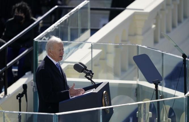 Ông Joe Biden tuyên thệ nhậm chức Tổng thống Mỹ ảnh 6