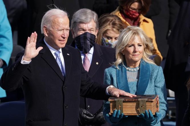 Ông Joe Biden tuyên thệ nhậm chức Tổng thống Mỹ ảnh 5