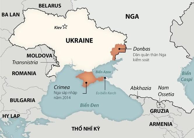 Hơn 10.000 lính Nga diễn tập gần Ukraine ảnh 1