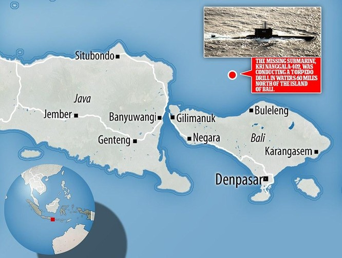 Đoạn video ám ảnh bên trong tàu ngầm mất tích của Indonesia ảnh 3