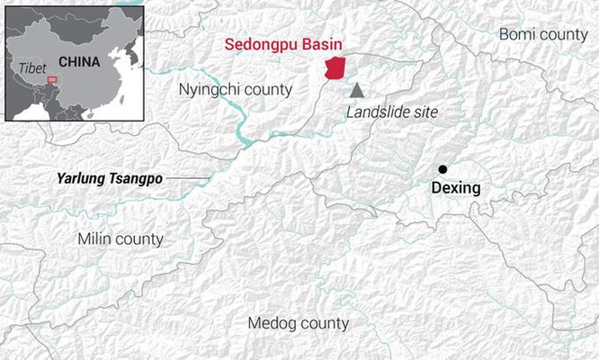 Băng tan đe dọa siêu dự án đập thủy điện Trung Quốc ảnh 1
