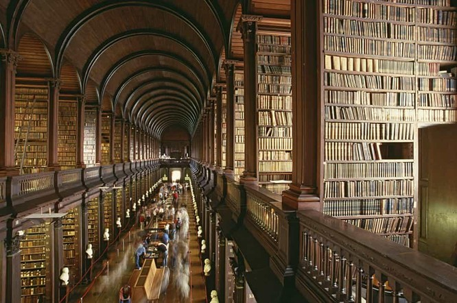 Những thư viện hào nhoáng nhất thế giới khiến bạn không thể rời mắt ảnh 9