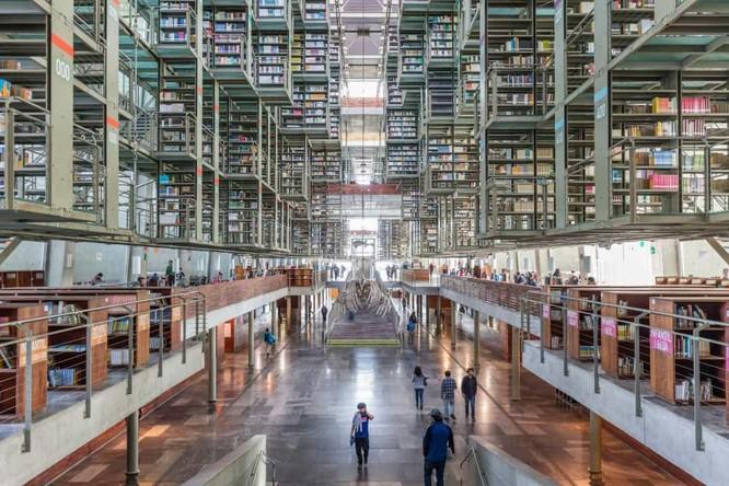 Những thư viện hào nhoáng nhất thế giới khiến bạn không thể rời mắt ảnh 8